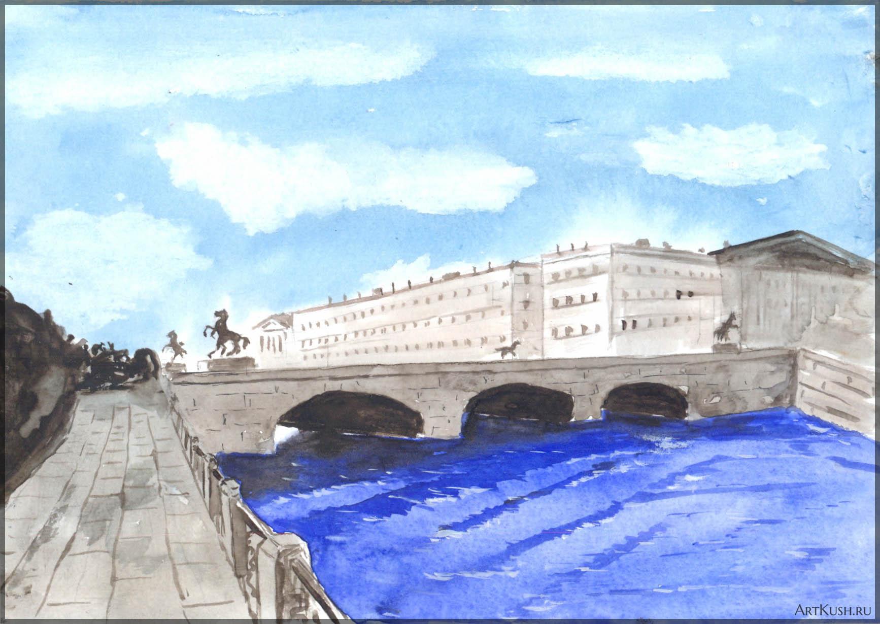 2015_10_Вид_на_Аничков_мост_зн