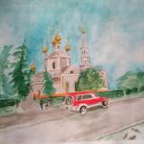 Церковь по ул. Туркестанской, г.Шымкент