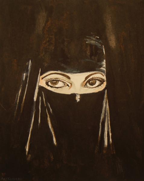 """""""Арабская женщина"""", авт. Кушенов К."""