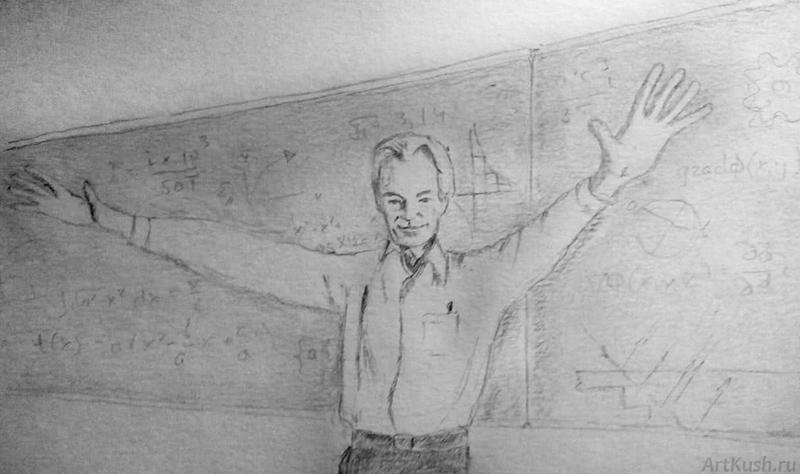 """""""Фейнман"""", авт. Кушенов К."""
