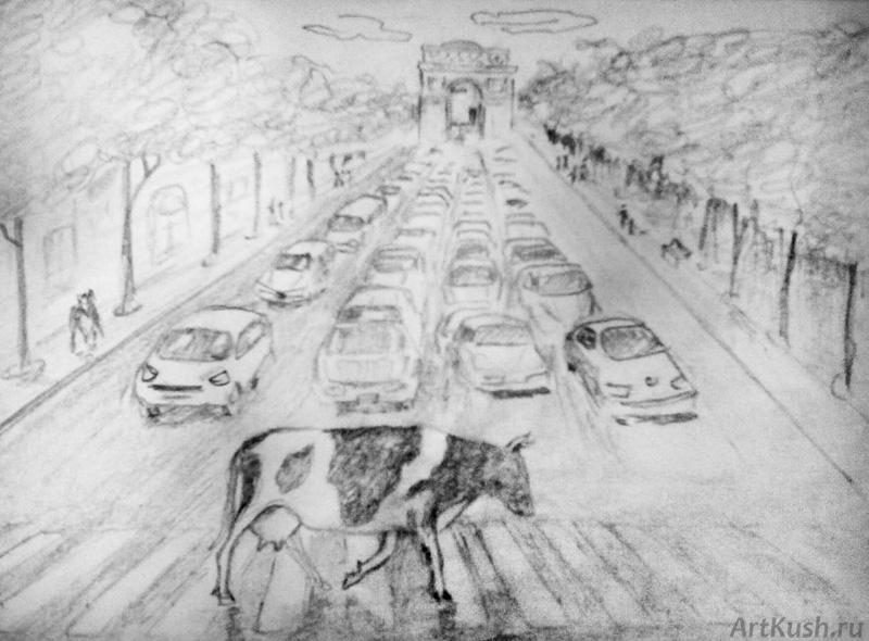 """Картина 88"", авт. Кушенов К."